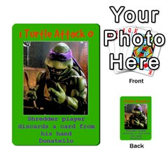 Tmnt Turtle Deck By Daniel Chick   Multi Purpose Cards (rectangle)   180347   Www Artscow Com Front 54