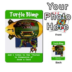 Tmnt Turtle Deck By Daniel Chick   Multi Purpose Cards (rectangle)   180347   Www Artscow Com Front 12