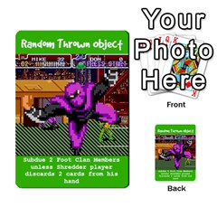 Tmnt Turtle Deck By Daniel Chick   Multi Purpose Cards (rectangle)   180347   Www Artscow Com Front 30