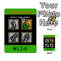 Tmnt Turtle Deck By Daniel Chick   Multi Purpose Cards (rectangle)   180347   Www Artscow Com Front 31