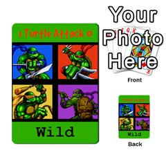 Tmnt Turtle Deck By Daniel Chick   Multi Purpose Cards (rectangle)   180347   Www Artscow Com Front 32