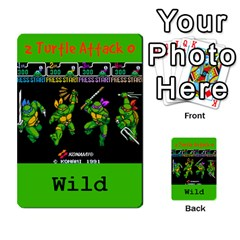 Tmnt Turtle Deck By Daniel Chick   Multi Purpose Cards (rectangle)   180347   Www Artscow Com Front 33