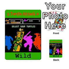 Tmnt Turtle Deck By Daniel Chick   Multi Purpose Cards (rectangle)   180347   Www Artscow Com Front 34