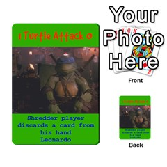 Tmnt Turtle Deck By Daniel Chick   Multi Purpose Cards (rectangle)   180347   Www Artscow Com Front 36