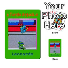 Tmnt Turtle Deck By Daniel Chick   Multi Purpose Cards (rectangle)   180347   Www Artscow Com Front 40