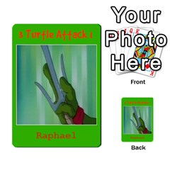 Tmnt Turtle Deck By Daniel Chick   Multi Purpose Cards (rectangle)   180347   Www Artscow Com Front 47