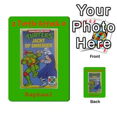 Tmnt Turtle Deck By Daniel Chick   Multi Purpose Cards (rectangle)   180347   Www Artscow Com Front 48