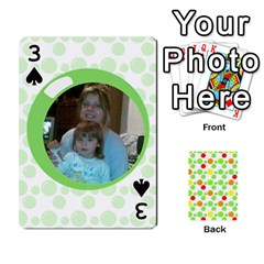 My Cards Baloon By Galya   Playing Cards 54 Designs   Ldapdjupu8vj   Www Artscow Com Front - Spade3