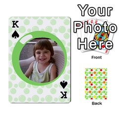 King My Cards Baloon By Galya   Playing Cards 54 Designs   Ldapdjupu8vj   Www Artscow Com Front - SpadeK