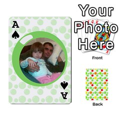 Ace My Cards Baloon By Galya   Playing Cards 54 Designs   Ldapdjupu8vj   Www Artscow Com Front - SpadeA