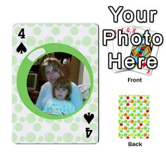 My Cards Baloon By Galya   Playing Cards 54 Designs   Ldapdjupu8vj   Www Artscow Com Front - Spade4