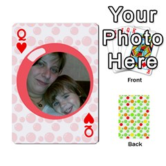 Queen My Cards Baloon By Galya   Playing Cards 54 Designs   Ldapdjupu8vj   Www Artscow Com Front - HeartQ