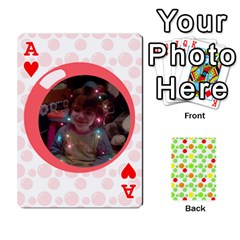 Ace My Cards Baloon By Galya   Playing Cards 54 Designs   Ldapdjupu8vj   Www Artscow Com Front - HeartA