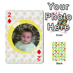 My Cards Baloon By Galya   Playing Cards 54 Designs   Ldapdjupu8vj   Www Artscow Com Front - Diamond2