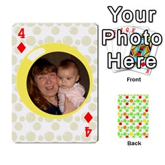 My Cards Baloon By Galya   Playing Cards 54 Designs   Ldapdjupu8vj   Www Artscow Com Front - Diamond4