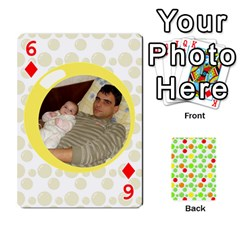 My Cards Baloon By Galya   Playing Cards 54 Designs   Ldapdjupu8vj   Www Artscow Com Front - Diamond6