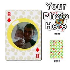 My Cards Baloon By Galya   Playing Cards 54 Designs   Ldapdjupu8vj   Www Artscow Com Front - Diamond8