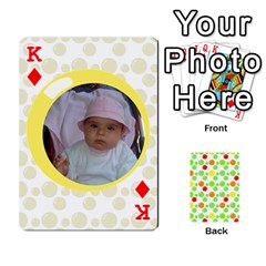 King My Cards Baloon By Galya   Playing Cards 54 Designs   Ldapdjupu8vj   Www Artscow Com Front - DiamondK