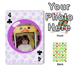 My Cards Baloon By Galya   Playing Cards 54 Designs   Ldapdjupu8vj   Www Artscow Com Front - Club4