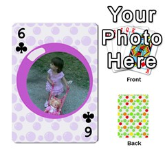 My Cards Baloon By Galya   Playing Cards 54 Designs   Ldapdjupu8vj   Www Artscow Com Front - Club6