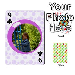 My Cards Baloon By Galya   Playing Cards 54 Designs   Ldapdjupu8vj   Www Artscow Com Front - Club9