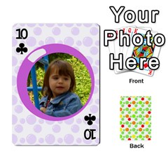 My Cards Baloon By Galya   Playing Cards 54 Designs   Ldapdjupu8vj   Www Artscow Com Front - Club10