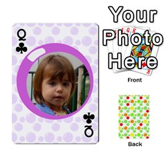 Queen My Cards Baloon By Galya   Playing Cards 54 Designs   Ldapdjupu8vj   Www Artscow Com Front - ClubQ