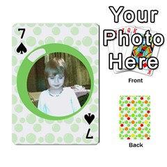 My Cards Baloon By Galya   Playing Cards 54 Designs   Ldapdjupu8vj   Www Artscow Com Front - Spade7
