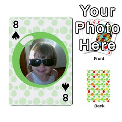 My Cards Baloon By Galya   Playing Cards 54 Designs   Ldapdjupu8vj   Www Artscow Com Front - Spade8