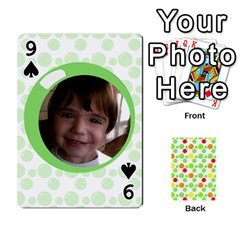 My Cards Baloon By Galya   Playing Cards 54 Designs   Ldapdjupu8vj   Www Artscow Com Front - Spade9