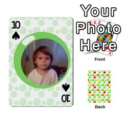 My Cards Baloon By Galya   Playing Cards 54 Designs   Ldapdjupu8vj   Www Artscow Com Front - Spade10