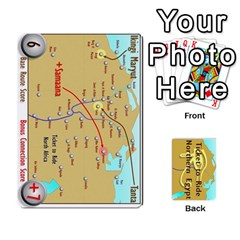 Ticket To Ride: Northern Egypt By Matthew Stevenson   Playing Cards 54 Designs   Gitpx2t0lxbl   Www Artscow Com Front - Heart3