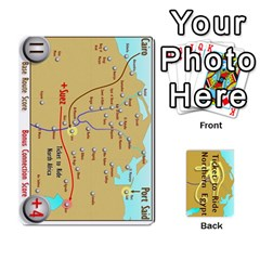 Ticket To Ride: Northern Egypt By Matthew Stevenson   Playing Cards 54 Designs   Gitpx2t0lxbl   Www Artscow Com Front - Diamond6