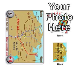 Ticket To Ride: Northern Egypt By Matthew Stevenson   Playing Cards 54 Designs   Gitpx2t0lxbl   Www Artscow Com Front - Club4