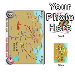 Ticket To Ride: Northern Egypt By Matthew Stevenson   Playing Cards 54 Designs   Gitpx2t0lxbl   Www Artscow Com Front - Club7