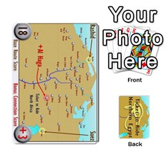 Ticket To Ride: Northern Egypt By Matthew Stevenson   Playing Cards 54 Designs   Gitpx2t0lxbl   Www Artscow Com Front - Spade7
