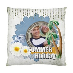 Summer Time By Joely   Standard Cushion Case (two Sides)   Zm2w7we161z4   Www Artscow Com Front