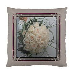 Cream Cushion Case (2 Sided) By Deborah   Standard Cushion Case (two Sides)   G8exisbgbnut   Www Artscow Com Front