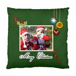 Cushion Case (Two Sides)- Merry Christmas 2 - Standard Cushion Case (Two Sides)