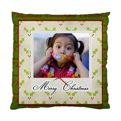 Cushion Case (two Sides)  Merry Christmas 3 By Jennyl   Standard Cushion Case (two Sides)   287k857lr7u0   Www Artscow Com Front