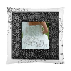 Lovely Day Wedding Double Sided Cushion By Catvinnat   Standard Cushion Case (two Sides)   Ot22anf22kq0   Www Artscow Com Front