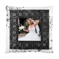 Lovely Day Wedding Double Sided Cushion By Catvinnat   Standard Cushion Case (two Sides)   Ot22anf22kq0   Www Artscow Com Back