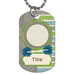 Tutti-Frutti Two Tag - Dog Tag (One Side)