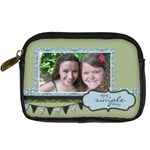 Enjoy the Simple Things - Digital Camera Leather Case