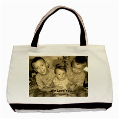 Gramma Bag By Monique   Basic Tote Bag (two Sides)   Pkpvr90nb8vt   Www Artscow Com Front