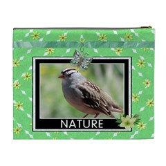 Nature Xl Cosmetic Bag By Lil    Cosmetic Bag (xl)   Iusxtqkzt0qd   Www Artscow Com Back