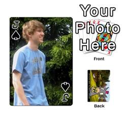 Jack Koniu2011 By Sonia   Playing Cards 54 Designs   Qvmcxk8c1499   Www Artscow Com Front - SpadeJ
