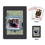 Summer Sophisticate Playing Cards - Playing Cards Single Design