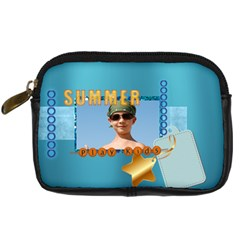 Summer By Joely   Digital Camera Leather Case   4i50kljtzi59   Www Artscow Com Front
