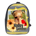 happy summer - School Bag (Large)